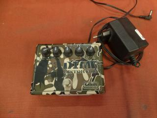 mxr Dime distortion