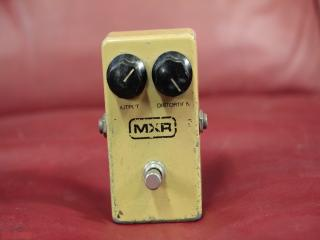 mxr distortion anni 80