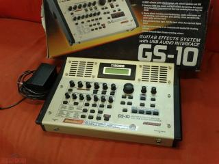 boss gs10 effect system  interfacciacon usb