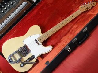 fender telecaster 1968 maple cap bigsby factory