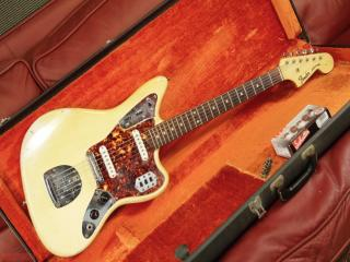 fender jaguar 1965 olympic matched