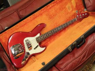 fender jazz 1964 candy apple red