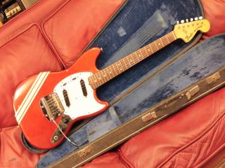 fender mustang 1974 competition