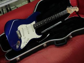 fender stratocaster 1991 satin lake placid blue
