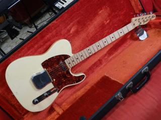 fender telecaster 1973 special order -  custom color olympic white