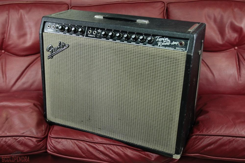 twin reverb amp 1967