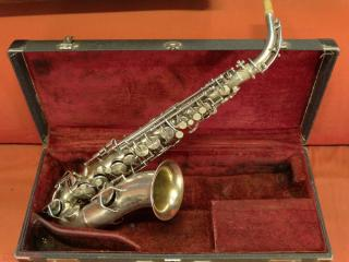 king The H.N. White alto sax