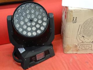 led moving head led zoom moving 36x10 watt 4 in 1